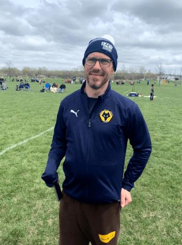 Alex Kinyon, Wolves Soccer Coach